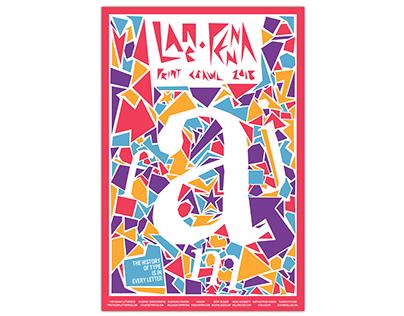 Lancaster Print Crawl 2018 Poster