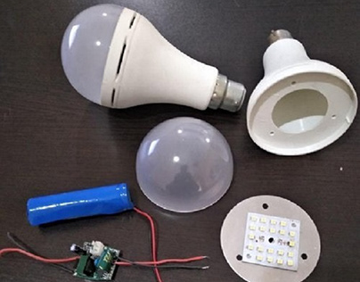 Ac Dc Led Bulb With Raw Material in Delhi