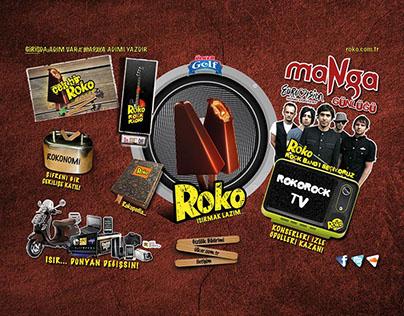 Ülker Roko Web Sitesi Tas. ve Kampanya 2010