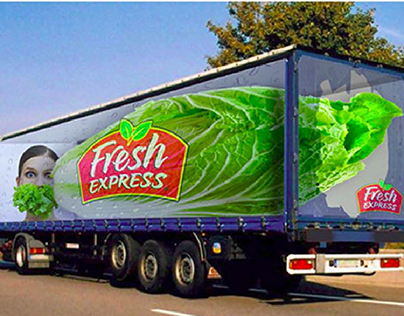 Salad Transportation Branding
