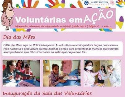 Voluntárias em AÇÃO