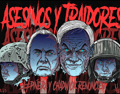 asesinos y traidores de chile