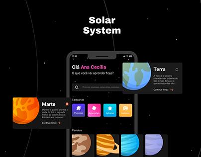 Solar System - Aplicativo
