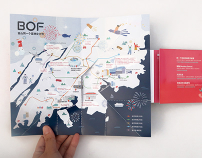 Festival Map illustration