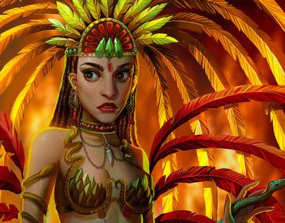 Samba Costume Design