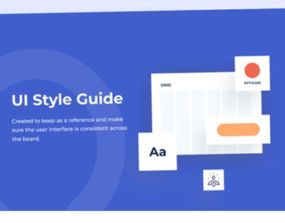Kriyadocs website UI style guide
