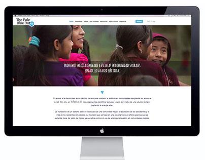 DISEÑO WEB THE PALE BLUE DOT / WEB DESIGN