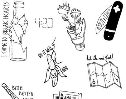 Breakless III x Tattoo flash event x Courrier