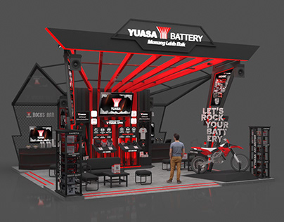 Yuasa Battery Booth 8x8m