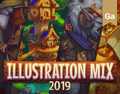 Illustration mix | 2019