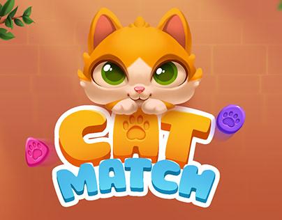 Game Art - Cat Match