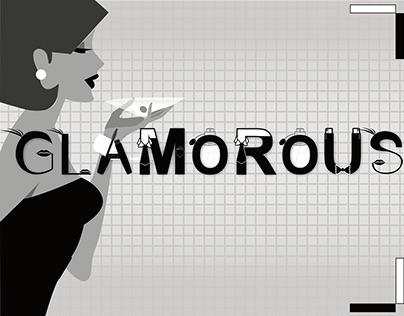 Glamorous Typography