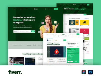 Fiverr Web - Redesign