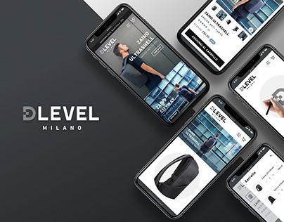 DLEVEL   Visual identity & UX design