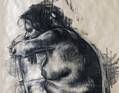 figural drawings