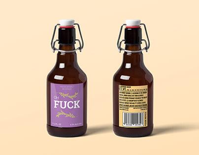 Stumble Fuck Beer Branding