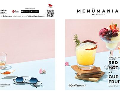 M E N U M A N I A !!! COFFEEMANIA'20 SUMMER
