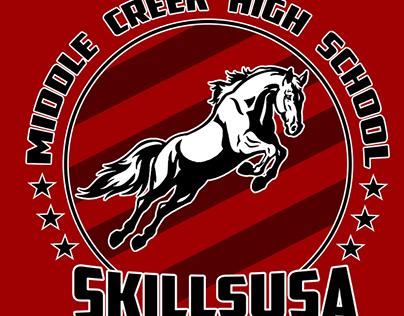 2016 SkillsUSA Middle Creek T-Shirt