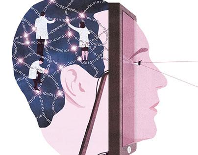 La Recherche - editorial illustration