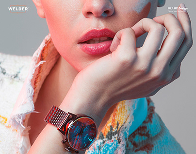 Welder Watch - Official Website Design