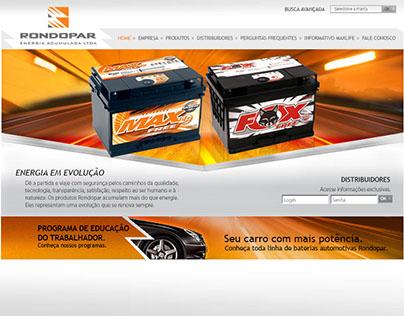 Baterias Rondopar