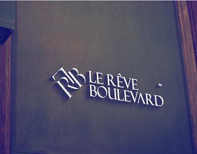 Logo & profile & building 3d Le Rêve