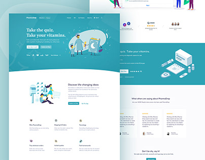 E-commerce Landing page