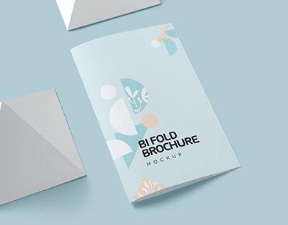Two Fold Brochure Mockups