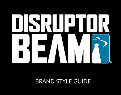 Disruptor Beam Brand Style Guide