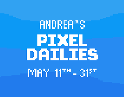 My Pixel Dailies - May 2019