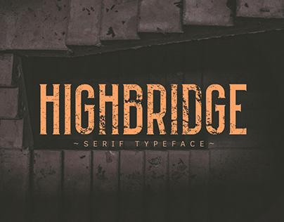 HIGHBRIDGE Typeface