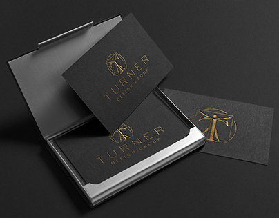 Brand identity for a design agency