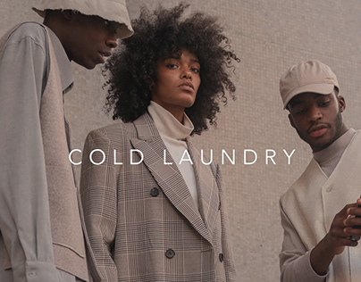 Concept online store - COLD LAUNDRY
