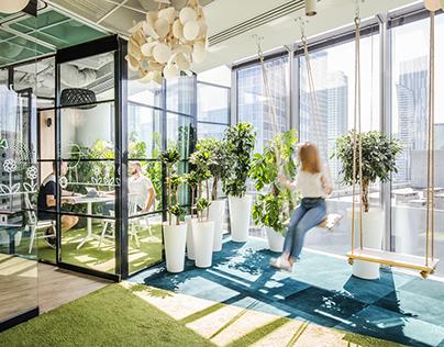 Allegro office in Warsaw