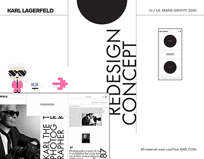 Karl Lagerfeld – e-store redesign