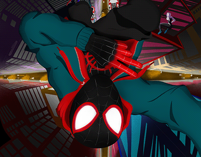 Miles Morales Selfie with Peter and Gwen