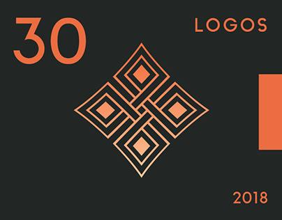 30 Logos - 2018