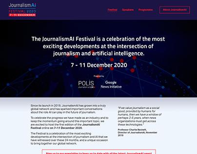 JournalismAI 2020 Festival