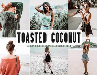 Free Toasted Coconut Mobile & Desktop Lightroom Preset