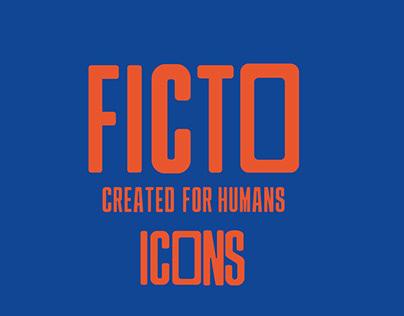 Ficto Icon set