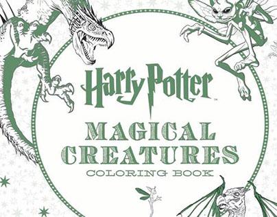 Harry Potter - Magical Creatures: Mandalas