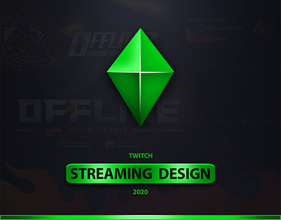 Twitch Streaming Design 2020
