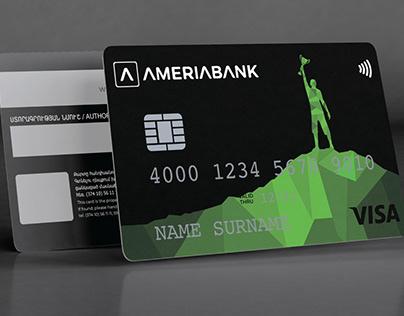 Ameria bank card rebranding