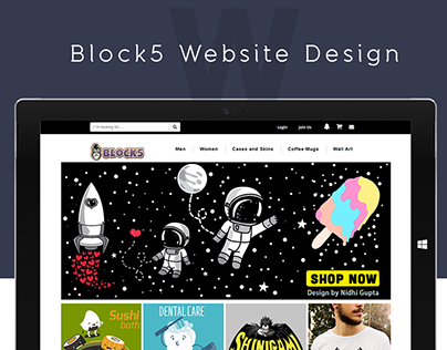 Block5 Website Design