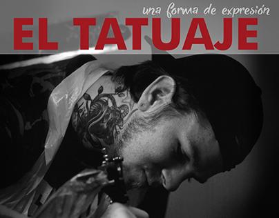 Afiche Promocional: El tatuaje, una forma de expresión