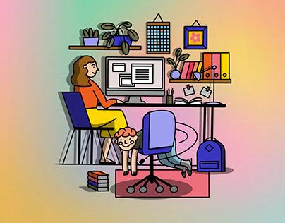 Illustration for Beeline e-mails. Part XII.