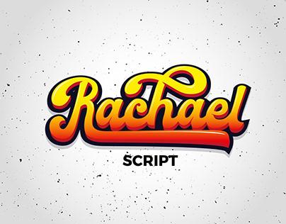 Rachael - Modern Script Font