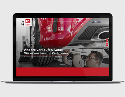 Autohaus Roth _Corporate Website