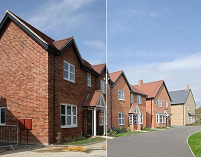 House build retouching – Various clients