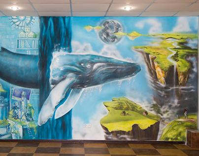 whale / Aerography